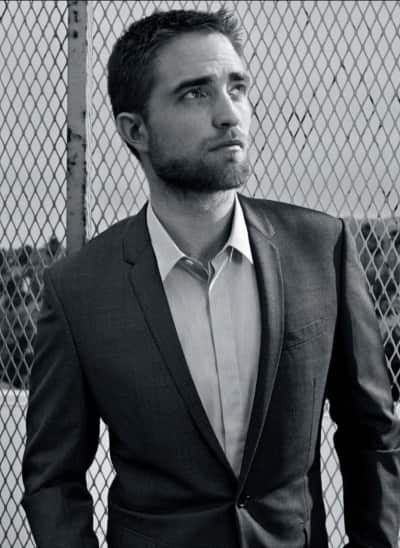Robert Pattinson for Harper's Bazaar Arabia
