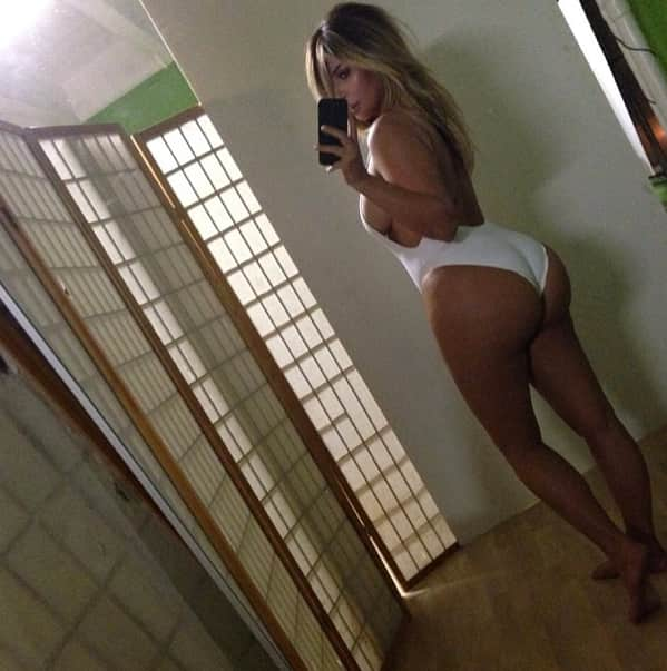 The White Bathing Suit From Behind