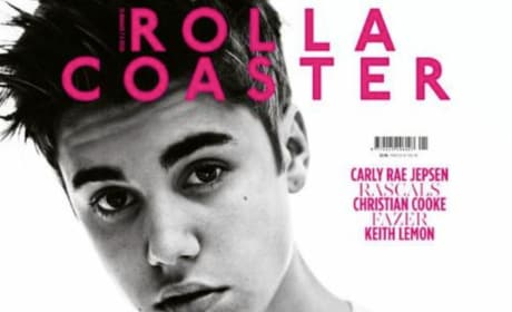 Justin Bieber on Rolla Coaster Cover