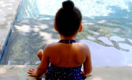 Blue Ivy Poolside