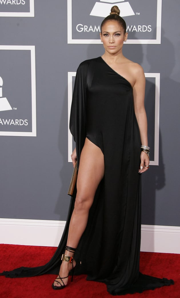 Jennifer Lopez Grammy Dress