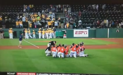 Little League Coach Inspires Team, Nation with Post-Loss Pep Talk