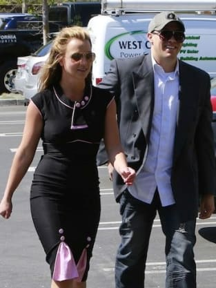 Britney Spears and David Lucado Photo