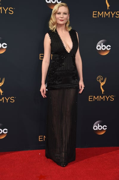 Kirsten Dunst at the 2016 Emmys