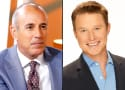 Matt Lauer Announces Billy Bush Departure, Pretends to Care