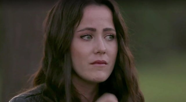 Jenelle evans is sad
