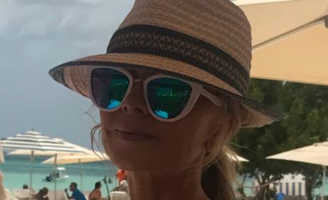 Tamra Judge in Aruba