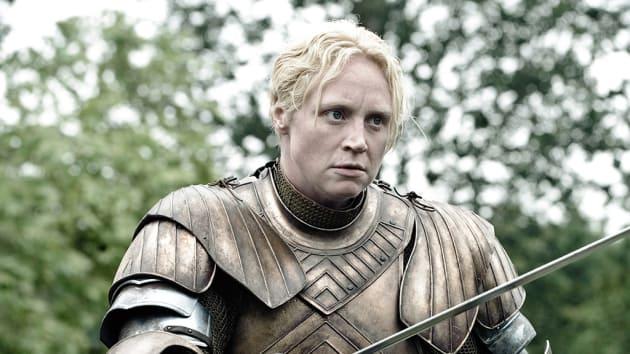 Gwendoline Christie as Brienne Photo