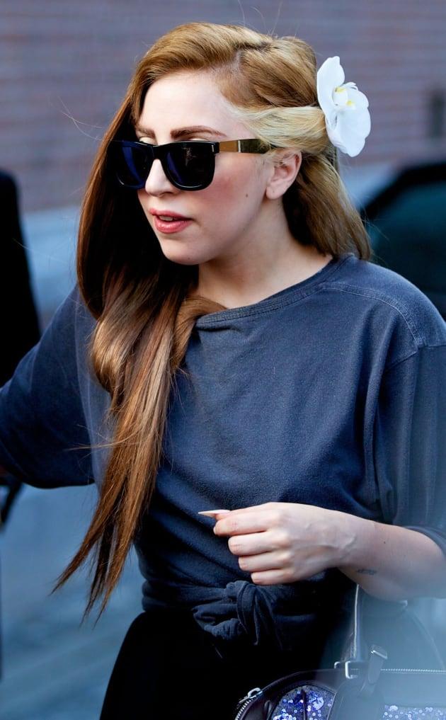 Gaga, Brown Hair