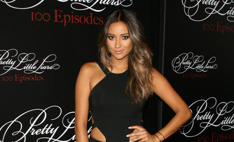 Shay Mitchell on the Red Carpet