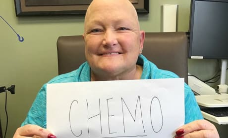 Debbie Rowe Chemo Photo