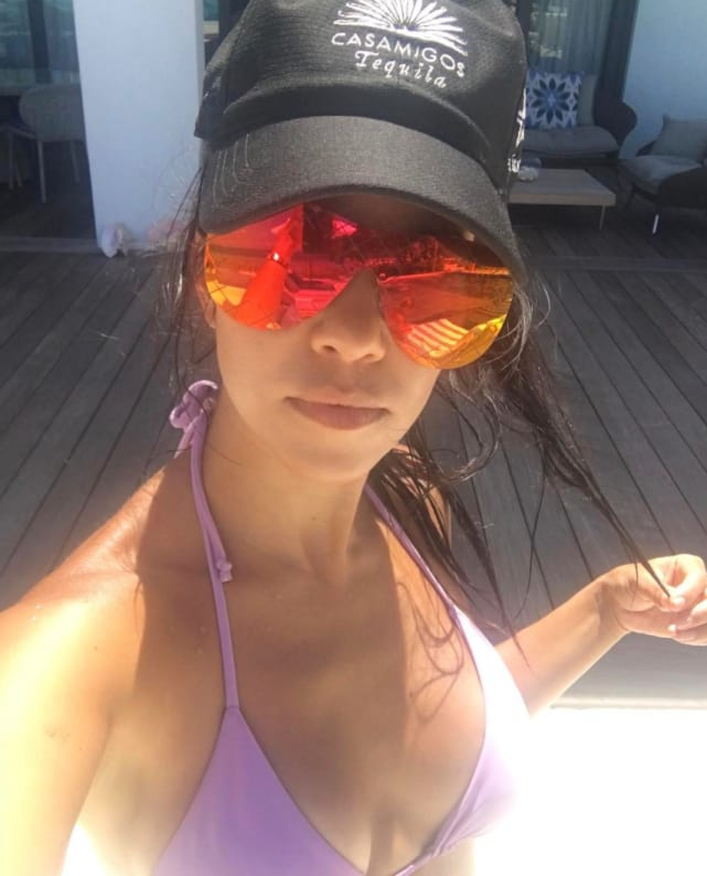 Kourtney's Tequila and Bikini Sunrise
