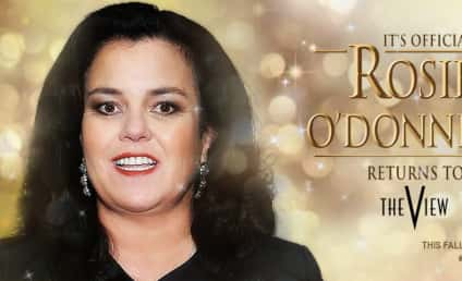 Rosie O'Donnell: Officially Returning to The View!