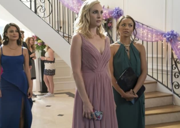 Miss Mystic Falls on The Vampire Diaries Season 8 Episode 9