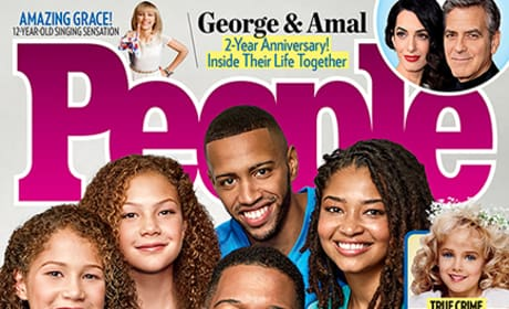 Michael Strahan People Cover