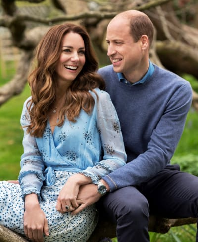 Prince William and Kate Middleton Anniversary Pic