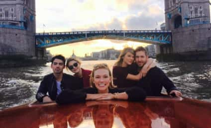 Taylor Swift and Calvin Harris Take Romantic Boat Ride in London