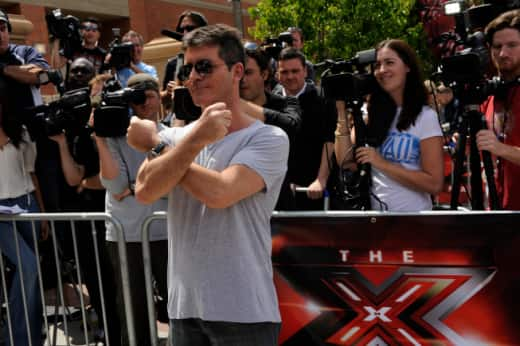 At X-Factor Auditions