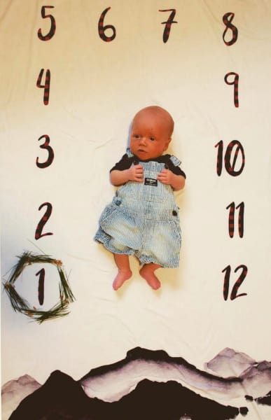Jackson at One Month