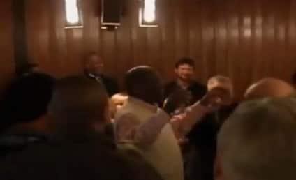 Herman Cain Jokes About Anita Hill on Camera