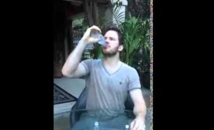 Chris Pratt Downs Vodka, Accepts Ice Bucket Challenge