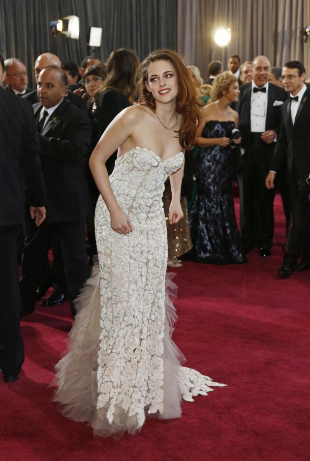 Kristen Stewart Oscars Gown