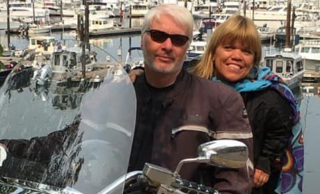 Chris Marek and Amy Roloff, Motorcycle Pic