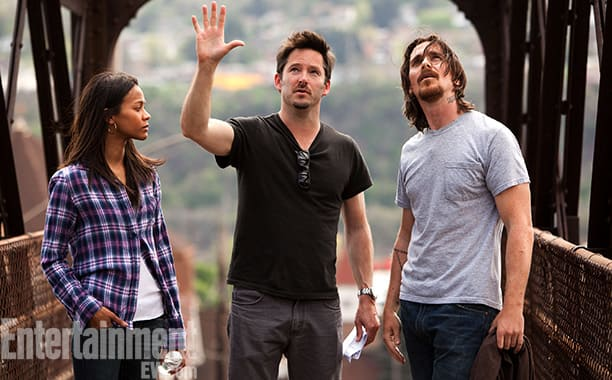 Christian Bale and Zoe Saldana Out of the Furnace