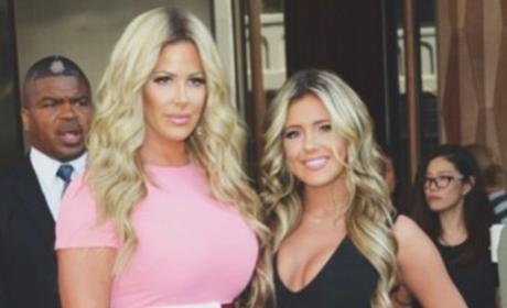 Kim and Brielle Zolciak