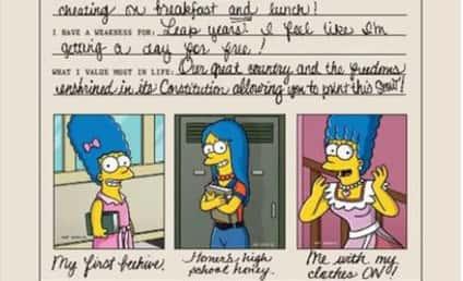 Marge Simpson Playboy Photos: Revealed!