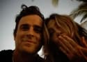 Justin Theroux Finally Breaks His Instagram Silence