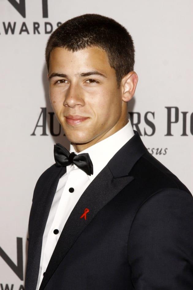 Nick Jonas in a Tux