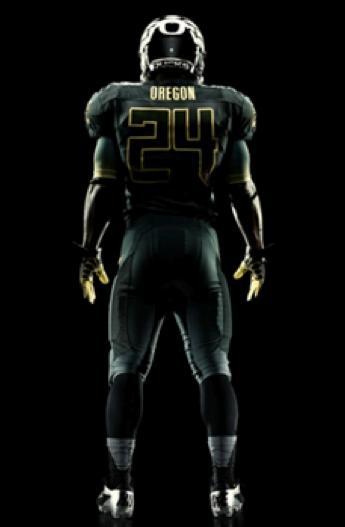 Oregon Football Uniform