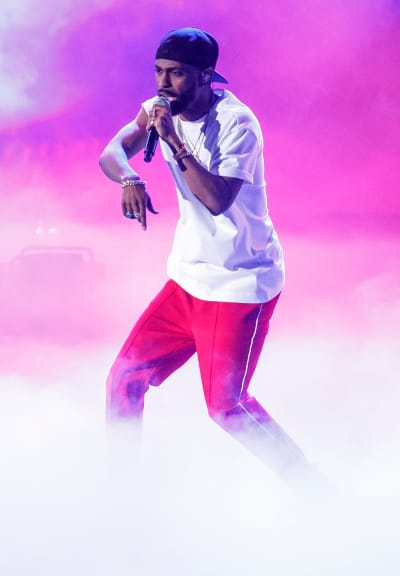 Big Sean at iHeartRadio Music Awards