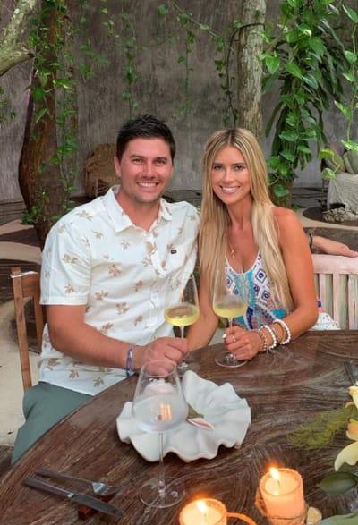 Joshua Hall and Christina Haack