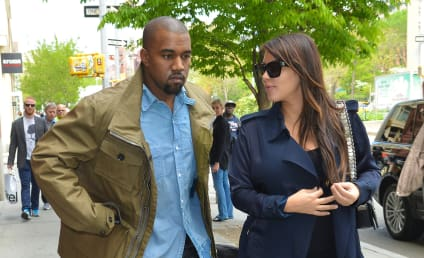 Kim Kardashian Baby Double: Pushed by Kanye West!