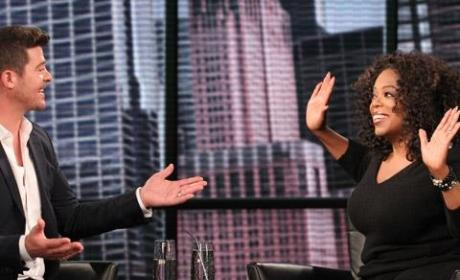 Robin Thicke: Oprah's Next Chapter Promo