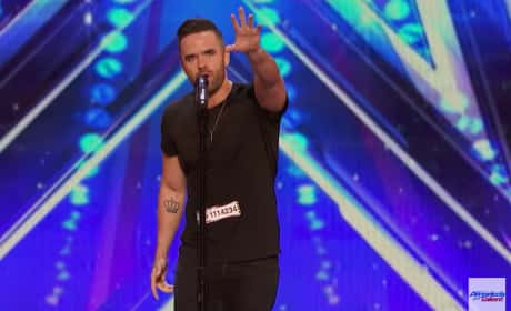 """Brian Justin Crum Gives Us """"Somebody to Love"""" on America's Got Talent"""
