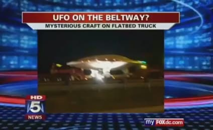 UFO on D.C. Beltway Really a Military Drone