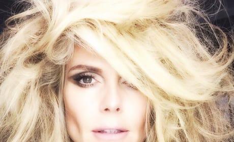 Heidi Klum with Makeup