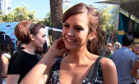 Nina Dobrev at Teen Choice Awards 2013