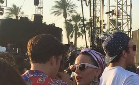Katy Perry and Orlando Bloom Coachella 2016