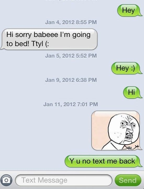 21 People Who Didn T Get A Text Back But Won At Life
