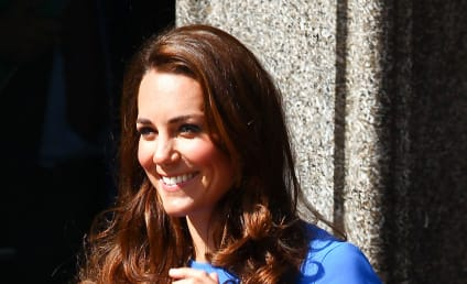 Kate Middleton: A Beauty in Blue, $78,000 Necklace