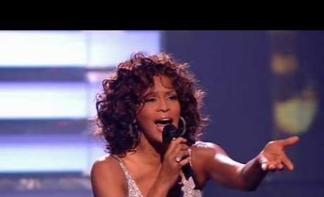Whitney Houston on X Factor