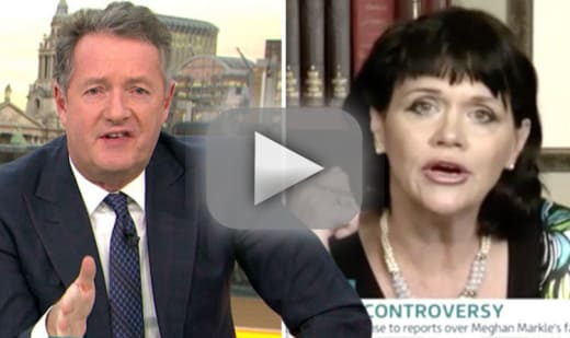 Piers morgan berates samantha markle you little vulture