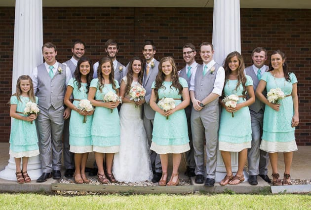 Duggar Wedding Photos So Many Nervous Virgins Ready To Take The Plunge The Hollywood Gossip