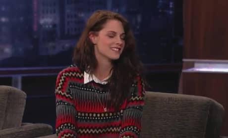 Kristen Stewart on Jimmy Kimmel Live (Part 1)