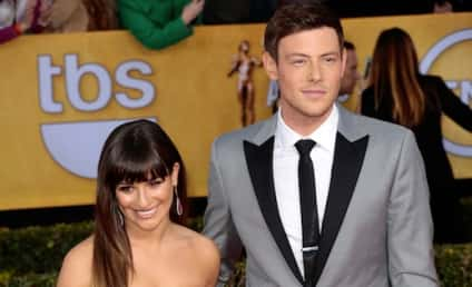 "Lea Michele Sends ""Love and Support"" to Cory Monteith"