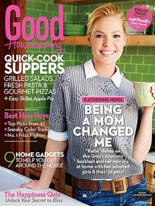 Katherine Heigl Good Housekeeping Cover